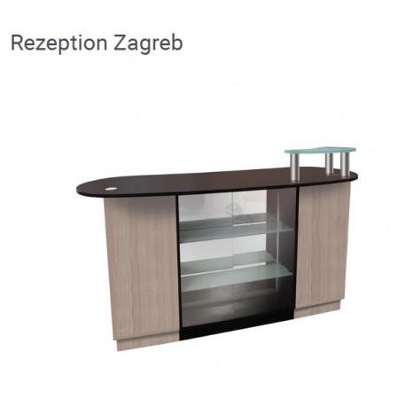 Rezeption Zagreb